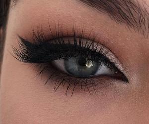 blue eyes, makeup, and tumblr image