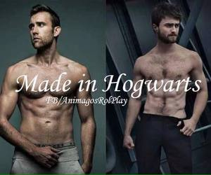 abs, harry potter, and movie image