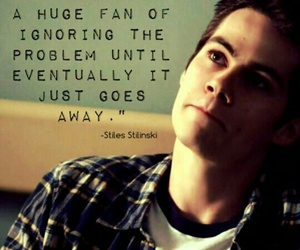 teen wolf, quotes, and dylan o'brien image