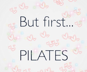 first, pilates, and wintee image