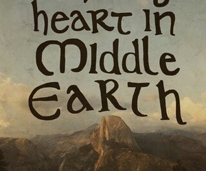 hobbit, LOTR, and middle earth image
