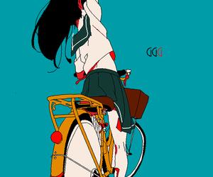 inuyasha, anime, and girl image