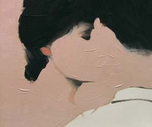 art, kiss, and painting image