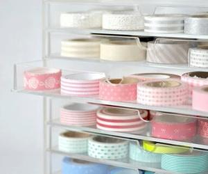 washi tape, organize, and tape image