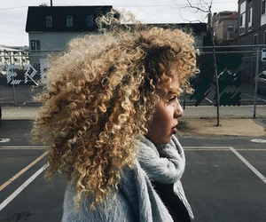 curly hair, beautiful, and beauty image