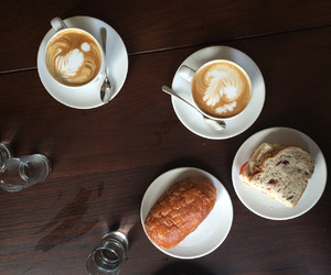 bread, breakfast, and cake image