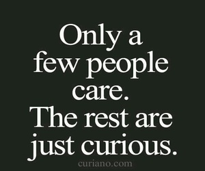 quotes, care, and curious image