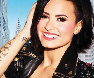 confident, demetria, and demi lovato image