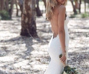 backless, flowers, and inspiration image