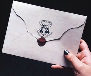 harry potter, hogwarts, and where's my letter image