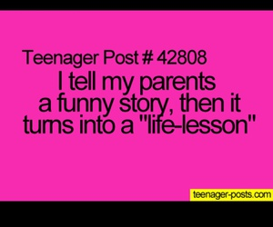 it's true and teenager post image