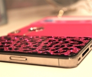cellphone, pink, and cute image
