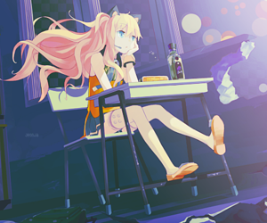 seeu, school, and vocaloid image
