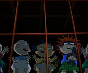nickelodeon, rugrats, and baby image