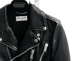 fashion, leather, and jacket image