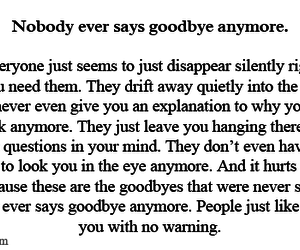 quote and goodbye image