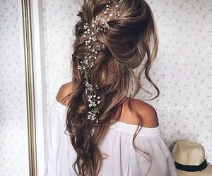 beautiful, boho, and brunette image