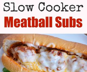 meatball, subs, and yummy image