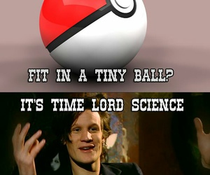 doctor who, pokemon, and time lord image