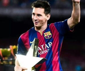 messi, lionel messi, and Barca image