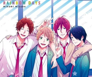 anime, nijiiro days, and rainbow days image