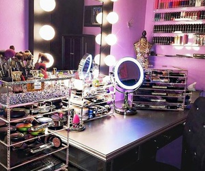 makeup and mirror image