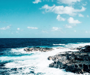 travel, waves, and beach image