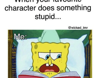 book, funny, and character image