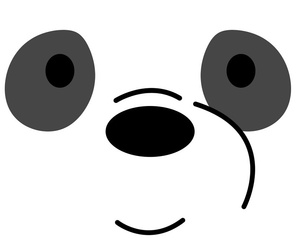 we bare bears, ursos sem curso, and r2d2_like_this image