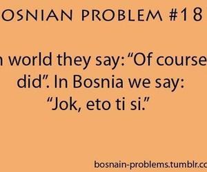 balkan, Bosnia, and quote image