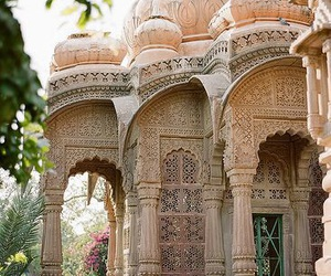 india, travel, and mandore gardens image