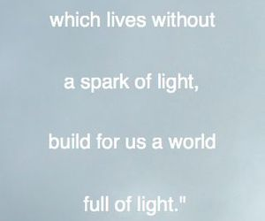 brain, light, and quotes image
