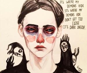 art and demons image