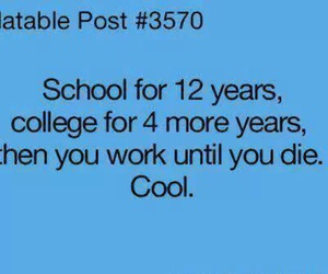 cool, school, and funny image