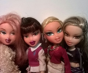 dolls, fashion, and bratz image