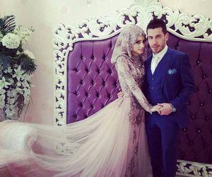 arabic, dress, and muslim image
