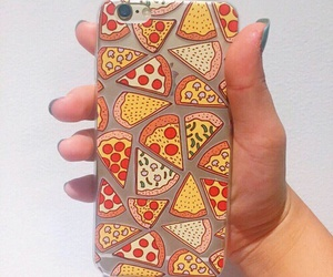 pizza, apple, and case image