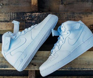 blue, shoes, and nike air image