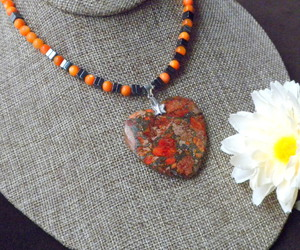 heart pendant, valentines gift, and sweetheart necklace image