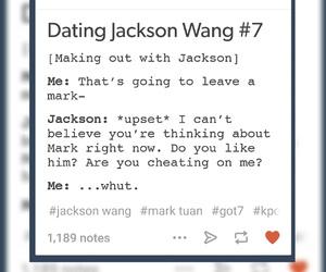 jackson, kpop, and tumblr image