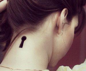 tattoo and key image