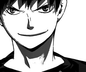 manga, smile, and haikyuu image