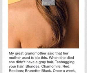 color, hair, and life hack image
