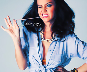 katy perry and gum image