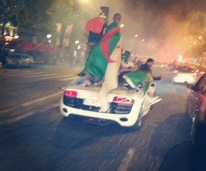 Algeria, flag, and pride image