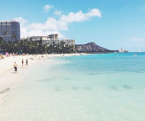 Aloha, beach, and hawaii image