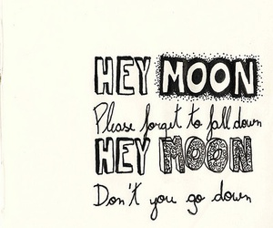 panic! at the disco, moon, and northern downpour image
