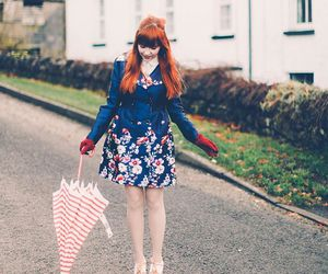 alternative, model, and orange hair image