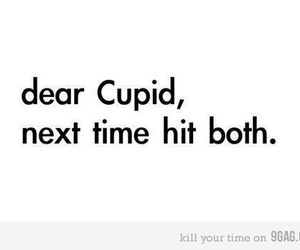 love, cupid, and quotes image