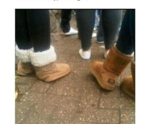 uggs, funny, and girls image